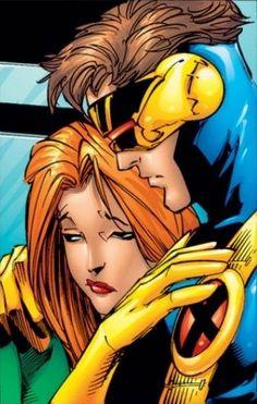 cyclops & jean grey #Xmen