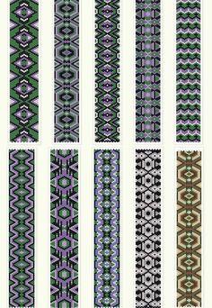 Free peyote patterns http://anabel-beadpatterns.blogspot.com.es/