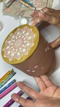 Mandala Dots, Flower Mandala, Mandala Pattern, Mandala Design, Mandala Art Lesson, Mandala Artwork, Mandala Painting, Stone Art Painting, Dot Art Painting