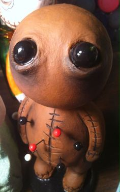 OOAK VOODOO CLAY ART DOLL HALLOWEEN CUSTOM MADE ANY COLOR!  | eBay