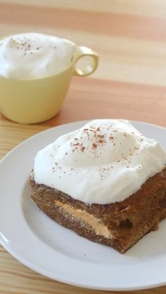 French toast stuffed with pumpkin cream cheese is the perfect complement to your morning PSL.