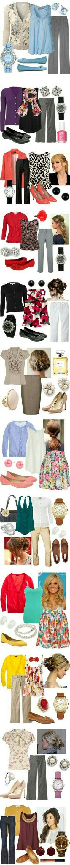 """⌚...Varias ideas para combinar chicas...  No se trata de tener mucha ropa, ni la más cara... """"SE TRATA DE TENER LO BASICO y HACER MUCHAS... MUCHAS CONBINACIONES""""... ese es el verdadero secreto de vestir bien y verse mejor"""