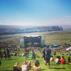 The Gorge Amphitheatre in Quincy, WA