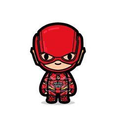 """My name is Barry Allen, and I'm the fastest man alive!"" #justiceleague #dccomics #batman #superman #wonderwoman #aquaman #flash #cute #chibi Superhero Cartoon, Superhero Party, Dc Comics, Dc World, Fastest Man, Cute Chibi, Comic Book Characters, Marvel Art, Cultura Pop"