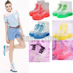 New Fashion Transparent Crystal ms Candy Colors Flat For Rain Boots Martin Boots New Fashion, Kids Fashion, Kids Rain Boots, Martin Boots, Candy Colors, Adidas Stan Smith, Happy Shopping, Adidas Sneakers, Boots Clothing