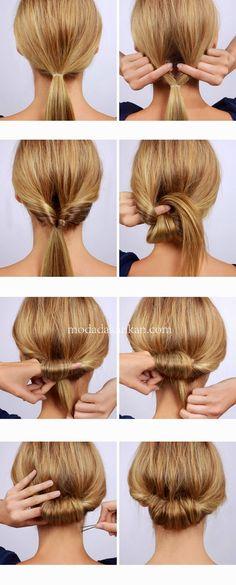 40 Self-Do Frisuren für die Arbeit MOMs - hair styles for short hair Trendy Hairstyles, Wedding Hairstyles, Bridesmaid Hairstyles, Easy Hairstyles For Work, Halo Hairstyle, Hair Updo, Professional Hairstyles, Cabelo Inspo, Medium Hair Styles