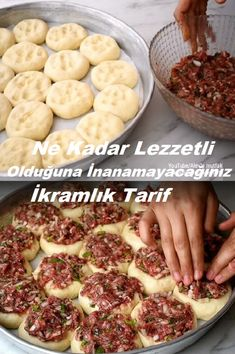 Pasta Recipes, Appetizer Recipes, Appetizers, Turkish Pizza, Ham, Food And Drink, Menu, Favorite Recipes, Vegan