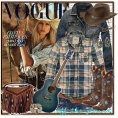 Cowgirl, created by annabu on Polyvore