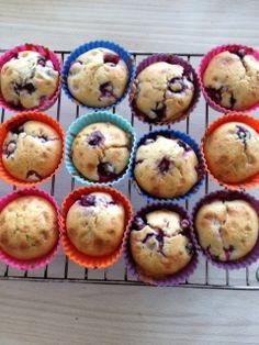 GDS - Gør Det Selv!: DIY Nemme fedtfattige blåbær muffins ca. 15 stk.