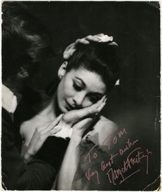 Margot-Fonteyn-Signed-amp-Inscribed-Original-10-x-12-Photograph