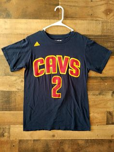 cc9509573d3b Authentic Adidas NBA CLEVELAND CAVALIERS  2 Kyrie Irving Player Shirt.  Worksburg Sports Apparel · NBA National Basketball Association