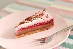Čokoládovo-malinový koláčik | janelisblog.com