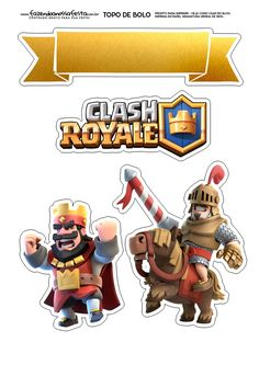 Uau! Veja o que temos para Topo de Bolo Clash Royale 2