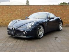 Best Sports Cars : Illustration Description Alfa Romeo Competizione for sale at Romans International. Maserati, Lamborghini, Ferrari, Alfa Romeo Cars, Alfa Cars, Peugeot, Alpha Romeo, Automobile, Sport Cars