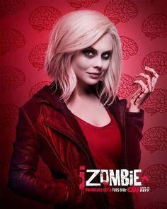 iZombie Season 2 - Rose McIver as Liv Moore Rose Mciver, Zombies, Izombie Tv Series, Izombie Cast, Zone Telechargement, Plus Tv, Kristen Bell, Film Serie, The Cw