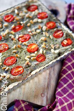 ChilliBite.pl sprawdzone przepisy kulinarne ze zdjęciami : Tarta z pieczonym bakłażanem
