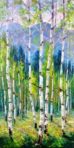 Dean Bradshaw seeks to achieve abstract quality using recognizable shapes. Represented by Horizon Fine Art Gallery in Jackson Hole, Wyoming. Watercolor Trees, Watercolor Landscape, Watercolor Paintings, Abstract Paintings, Painting Art, Watercolors, Landscape Quilts, Landscape Art, Landscape Paintings