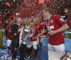 Sir Alex Ferguson & Nemanja Vidic, Manchester United