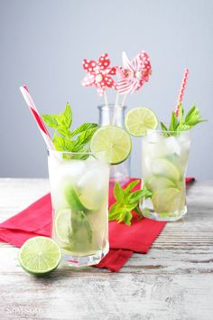 mojito with gin and lemon balm | mojito with gin and lemon grass (vegan | advertisement)