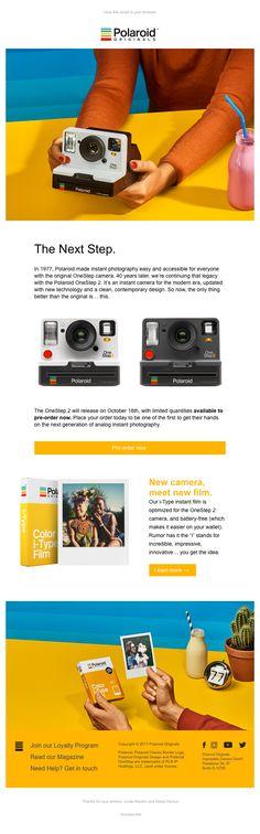 d587773f41 14 Best Polaroid @ CES images in 2018 | Polaroid cameras, Digital ...