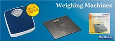 Shop for Weighing Machine online from various brands like Omron, Equinox and Morepen at discounted price. Buy digital, analog and glass weighing scales at best price.