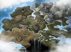 Fantasy Game Map by jbrown67 on DeviantArt