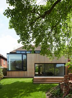 House extension @ Greenhill Road, Winchester by Dan Brill Architects