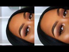(paid link) Spooky-Chic burgundy makeup look We Are Obsessing #burgundymakeuplook Natural Glam Makeup, Dark Skin Makeup, Hair Makeup, Prom Makeup, Natural Hair, Fall Makeup Tutorial, Smokey Eye Makeup Tutorial, Everyday Makeup Tutorials, Everyday Makeup Routine