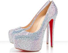The day i own a pair of crystal Louboutins i know that ive made it in the fashion industry <3