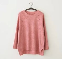 O-Neck Full Sleeve Loose Sweater