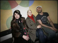 Ola Salo, Robyn and Christian Falk on a picture from 2006. Photo: Martina Huber