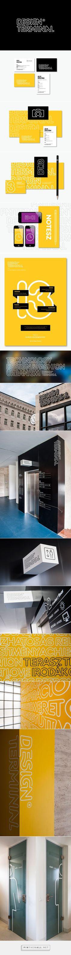Design Terminal Branding on Behance