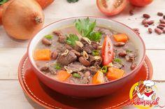 Resep Hidangan Sayuran Sup Kacang Merah, Makanan Sehat Untuk Diet, Club Masak