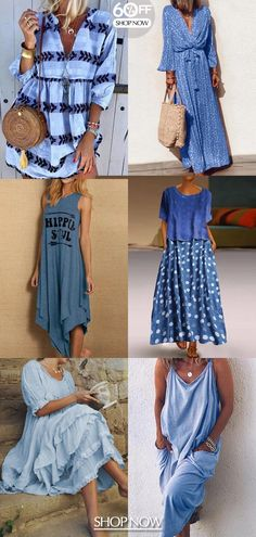 Keep falling in love with these fabulous handbags, Women's Dresses, Dresses For Sale, Casual Dresses, Casual Outfits, Boho Fashion, Fashion Looks, Fashion Outfits, Fashion Trends, Womens Fashion