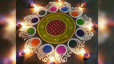 Diwali Special Rangoli Design, Easy Rangoli Designs Diwali, Rangoli Designs Latest, Simple Rangoli Designs Images, Rangoli Designs Flower, Free Hand Rangoli Design, Small Rangoli Design, Rangoli Border Designs, Rangoli Designs With Dots