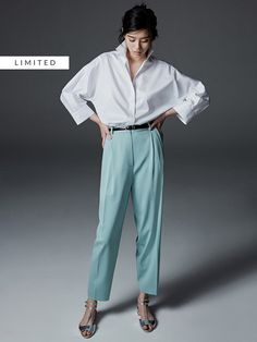 Women´s New In at Massimo Dutti online. Enter now and view our Spring summer 2017 New In collection. Opal Color, Go Shopping, Normcore, Spring Summer, Elegant, Womens Fashion, Pants, Collection, Style