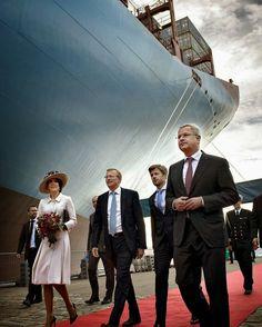 25 September 2013 - Christening a Mærsk Container Ship