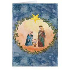 Christmas Nativity Card - Xmascards ChristmasEve Christmas Eve Christmas merry xmas family holy kids gifts holidays Santa cards