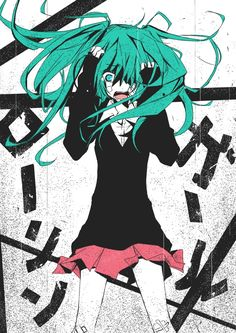 Tags: Anime, Hatsune Miku, Vocaloid, Rolling Girl, Pixiv Id 3438895