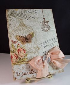 Pretty card by Stamp Simply.