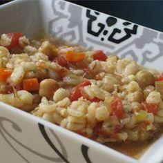 Beaker's Vegetable Barley Soup Allrecipes.com