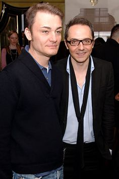 Tommaso Aquilano and Roberto Rimondi. Fashion Designers for Aquilano Rimondi.