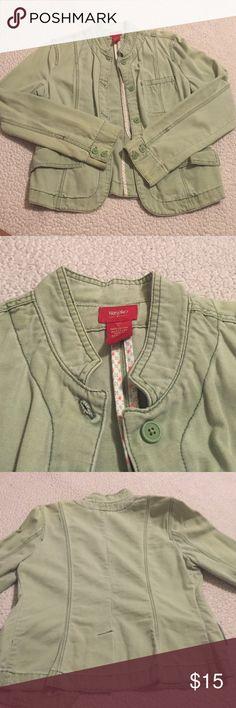 Green jacket Cute lightweight jacket! Mossimo Supply Co Jackets & Coats