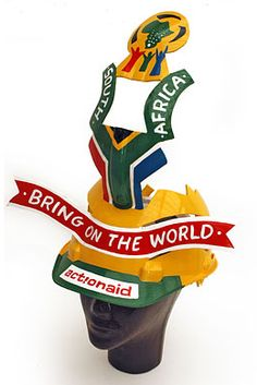 Football Design, Football Fans, African Hats, South African Art, School Projects, Soccer, Craft, Gifts, Decor