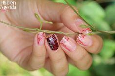 Vernis Risqué DUNA Naturel et ANDREIA N°9. Nail art stamping avec le Andreia N°9. Oui nos vernis ANDREIA fonctionnent pour le stamping. Retrouvez ces 2 produits chez www.parlezenauxcopines.com/