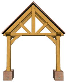 2 POST PORCHES — TIMBER FRAME PORCHES Garage Pergola, Gazebo Pergola, Wooden Pergola, Porch Timber, Glass Porch, Bali Blinds, Victorian Parlor, Pergola Pictures, House With Porch