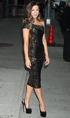 Kate Beckinsale, you are quickly becoming one of my style idols...