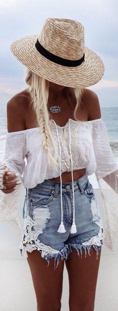 Boho summer look #weloveboho#boho#bohemian#gypsy#freespirit#fashion#moda
