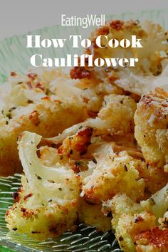 This is your one-stop guide for how to shop for and store cauliflower, delicious ways to cook it, and why it's so good for you. Healthy Meals To Cook, Nutritious Meals, Easy Healthy Recipes, Veggie Recipes, Healthy Cooking, Healthy Snacks, Vegetarian Recipes, Easy Meals, Healthy Eating