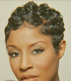 Astounding Beautiful Finger Waves And Fingers On Pinterest Short Hairstyles For Black Women Fulllsitofus